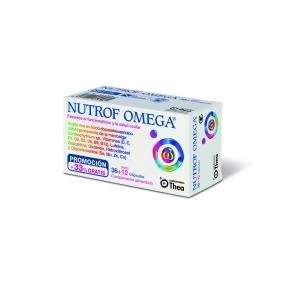 NUTROF OMEGA CAPS - (36 CAPS )