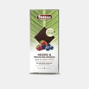 CHOCOLATE NEGRO CON FRUTOS...