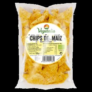 CHIPS DE MAIZ VEGETALIA 125 GR